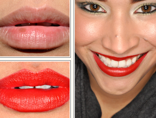 red lipstick mac. MAC Russian Red Lipstick
