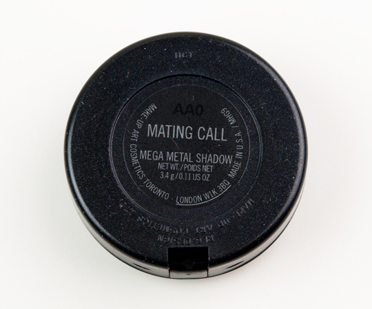 MAC Mating Call Mega Metal Eyeshadow