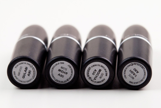 MAC Mickey Contractor Lipsticks