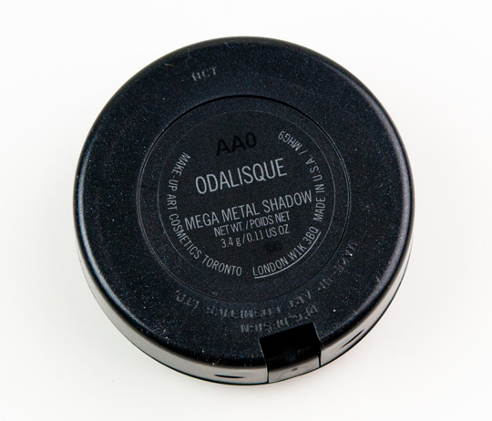 MAC Odalisque Mega Metal Eyeshadow