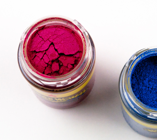 MAC Wonder Woman Pigments/Reflects Glitters
