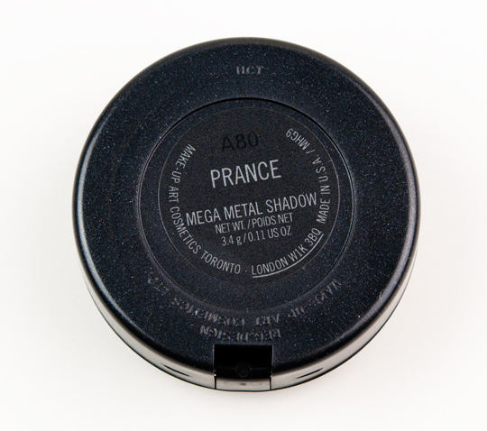 MAC Paparazzshe Mega Metal Eyeshadow