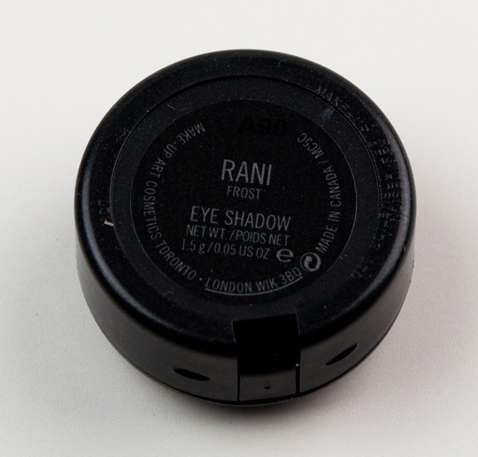 MAC Rani Eyeshadow