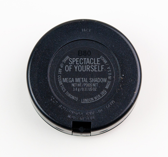 MAC Spectacle of Yourself Mega Metal Eyeshadow