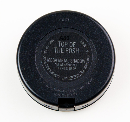 MAC Top of the Posh Mega Metal Eyeshadow