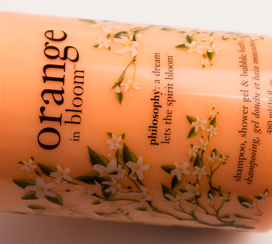 Philosophy Orange in Bloom Shower Gel