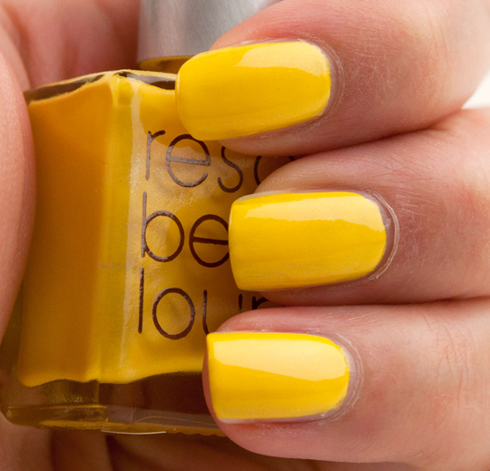 Rescue Beauty Lounge Yellow Fever Nail Lacquer