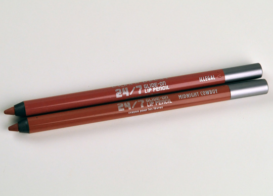 Urban Decay 24/7 Glide-On Lip Pencils