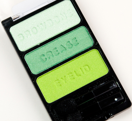 Wet 'n' Wild I Dream of Greenie Eyeshadow Trio