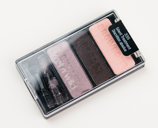 Wet 'n' Wild Silent Treatment Eyeshadow Trio