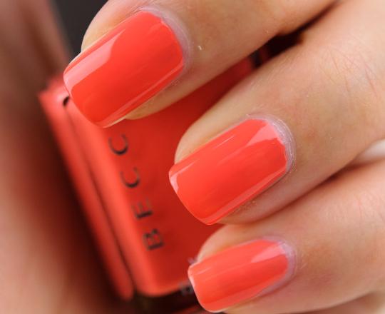 Becca Tangerine Dream Nail Lacquer