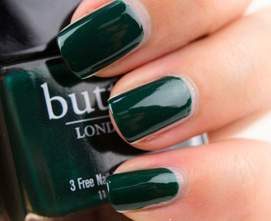 Butter London British Racing Green Nail Lacquer