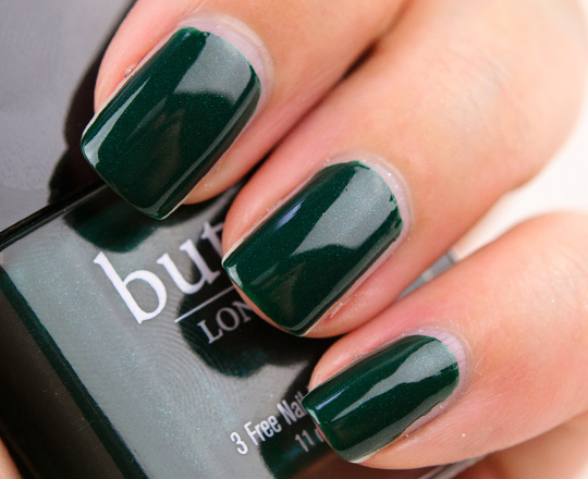 Butter London British Racing Green Nail Lacquer Review, Photos, Swatches