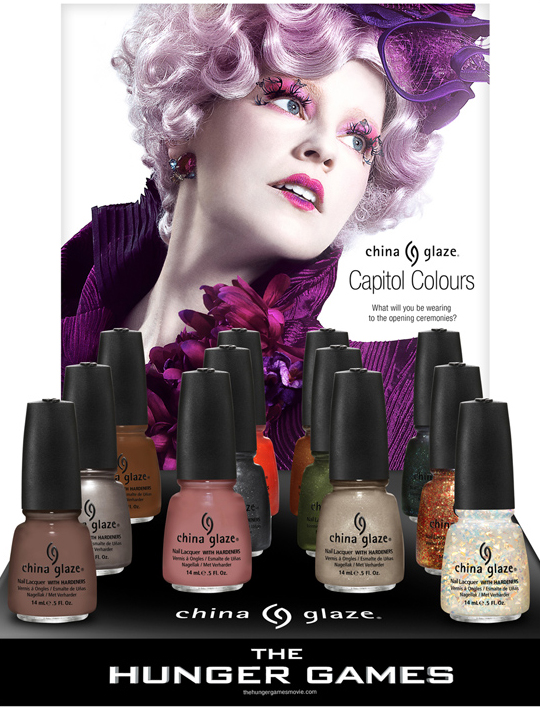 Win It! China Glaze + Hunger Games Nail Lacquer Collection!