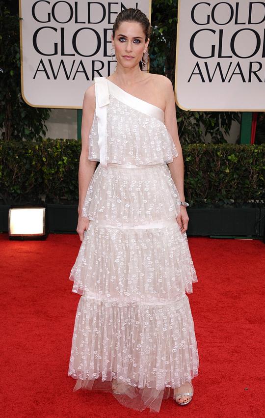 Amanda Peet @ 2012 Golden Globes Awards