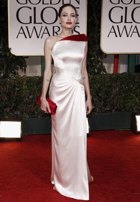 Angelina Jolie @ 2012 Golden Globes Awards