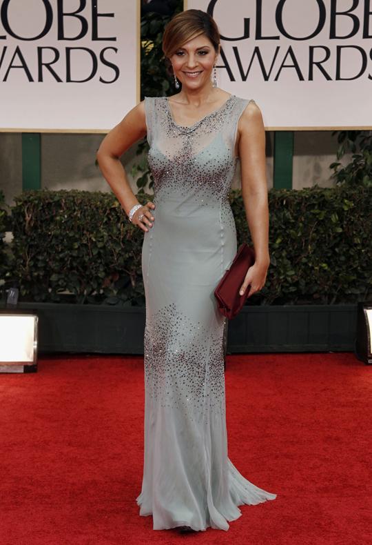 Callie Thorne @ 2012 Golden Globes Awards