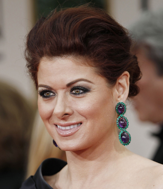 Debra Messing @ 2012 Golden Globes Awards
