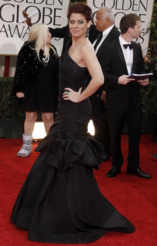 Debra Messing @ 2012 Golden Globes Awards
