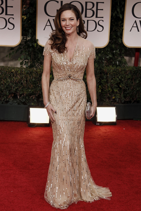 Diane Lane @ 2012 Golden Globes Awards