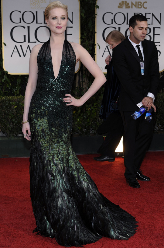 Evan Rachel Wood @ 2012 Golden Globes Awards
