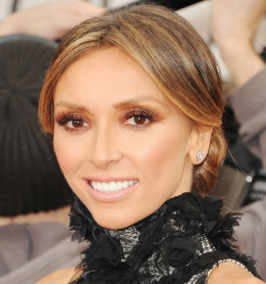 Giuliana Rancic @ 2012 Golden Globes Awards