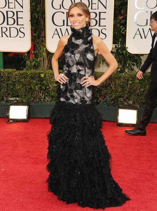 Giuliana Rancic @ 2012 Golden Globes Awards