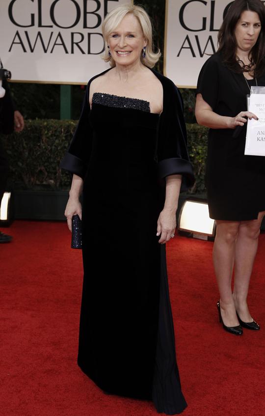 Glenn Close @ 2012 Golden Globes Awards