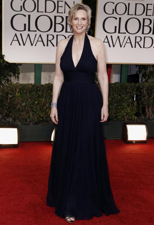 Jane Lynch @ 2012 Golden Globes Awards