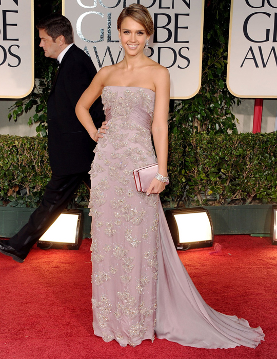 Jessica Alba @ 2012 Golden Globes Awards