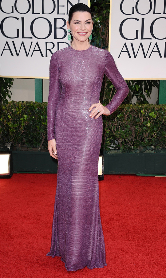 Julianna Margulies @ 2012 Golden Globes Awards
