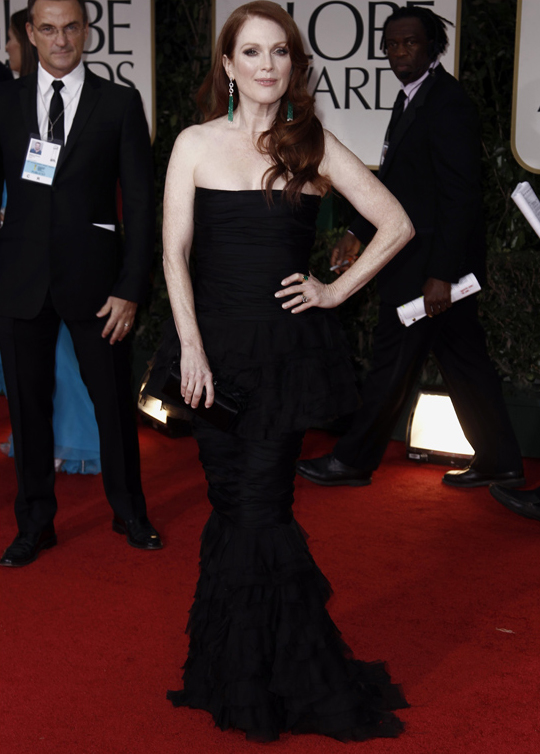 Julianne Moore @ 2012 Golden Globes Awards