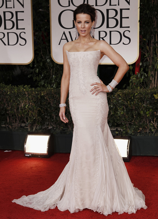 Kate Beckinsale @ 2012 Golden Globes Awards
