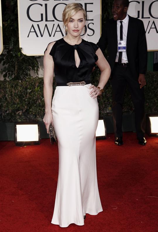 Kate Winslet @ 2012 Golden Globes Awards