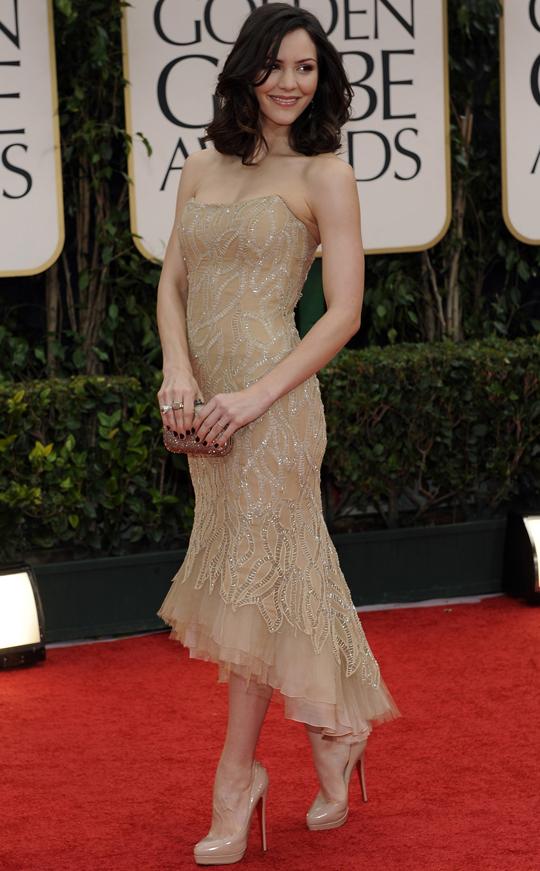 Katherine McPhee @ 2012 Golden Globes Awards