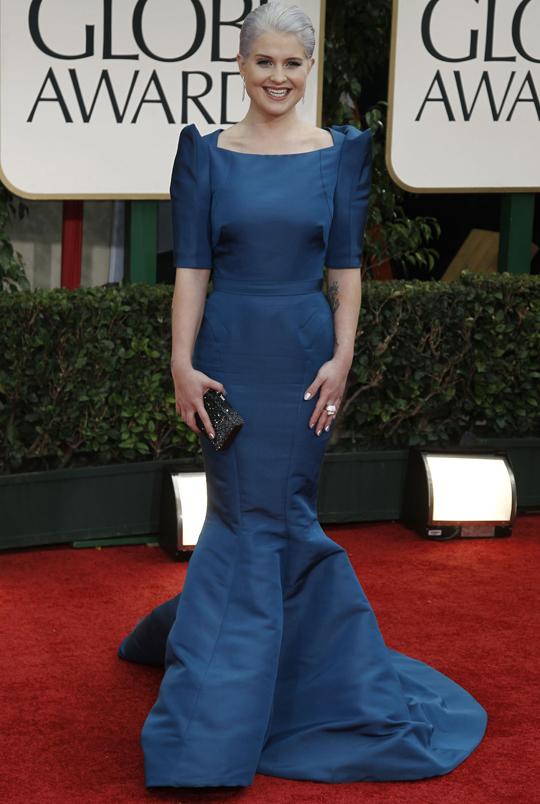 Kelly Osbourne @ 2012 Golden Globes Awards