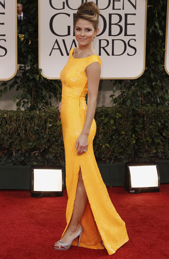 Maria Menounos @ 2012 Golden Globes Awards