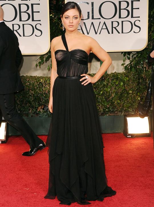 Mila Kunis @ 2012 Golden Globes Awards