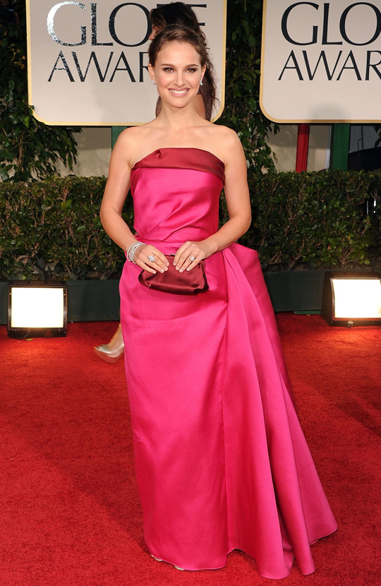 Natalie Portman @ 2012 Golden Globes Awards