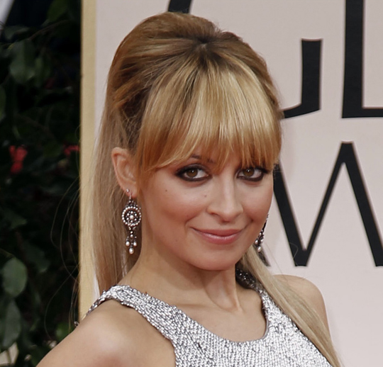 Nicole Richie @ 2012 Golden Globes Awards