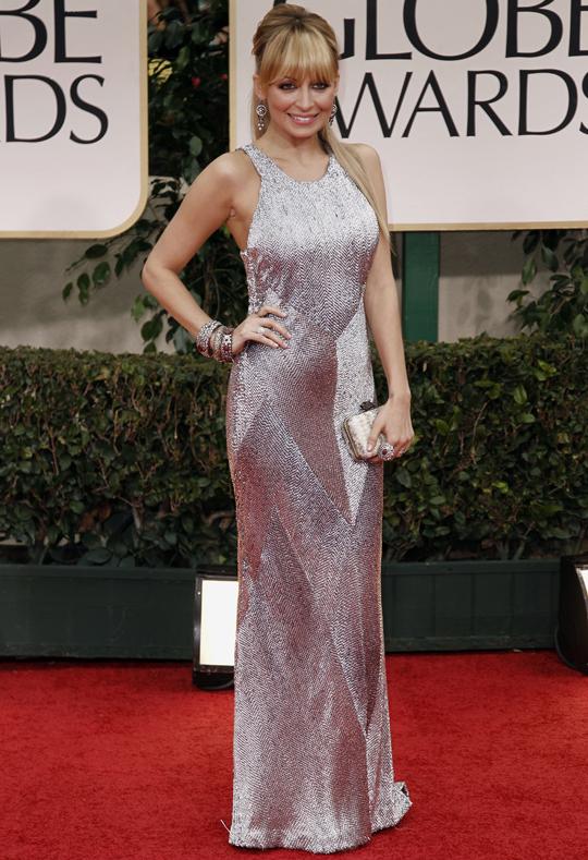 Nicole Richie @ 2012 Golden Globes Awards