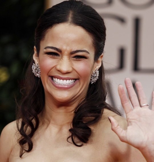 Paula Patton @ 2012 Golden Globes Awards