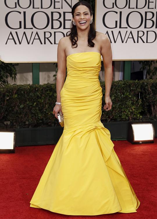 Paula Patton @ 2012 Golden Globes Awards