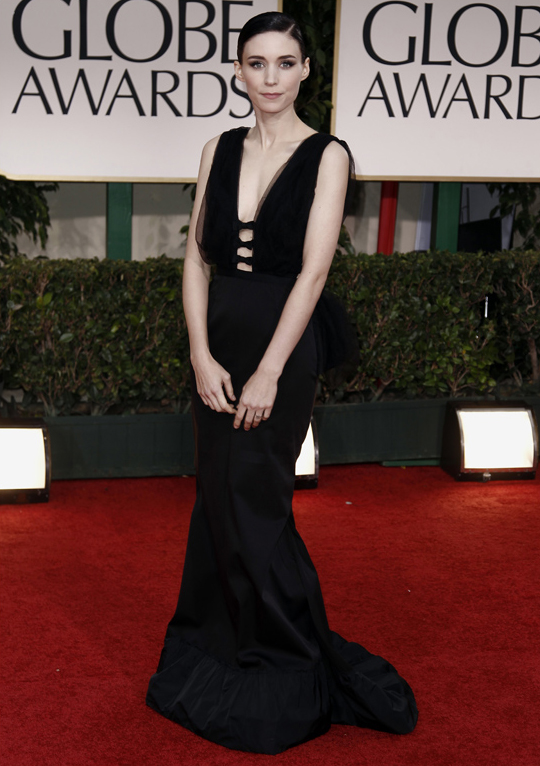 Rooney Mara @ 2012 Golden Globes Awards