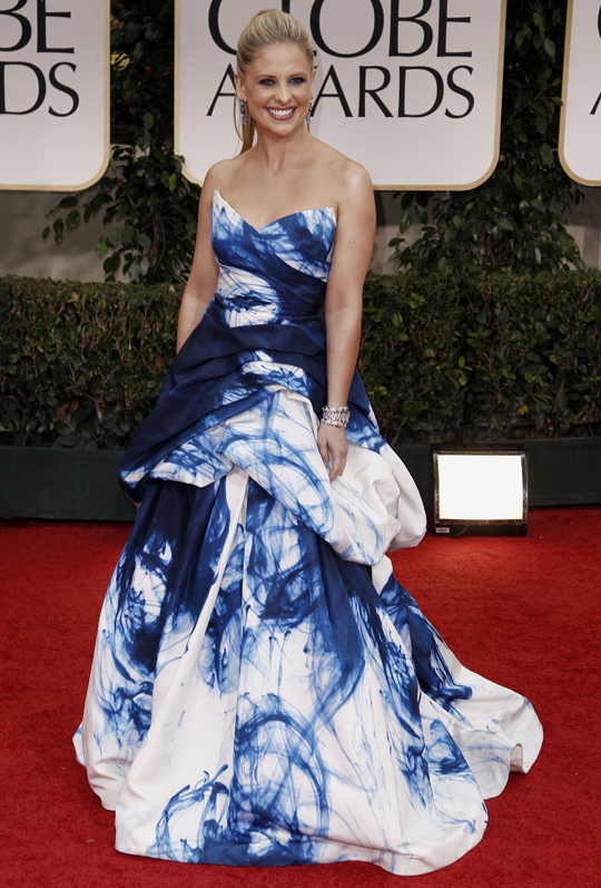 Sarah Michelle Gellar @ 2012 Golden Globes Awards