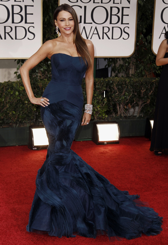 Sofia Vergara @ 2012 Golden Globes Awards
