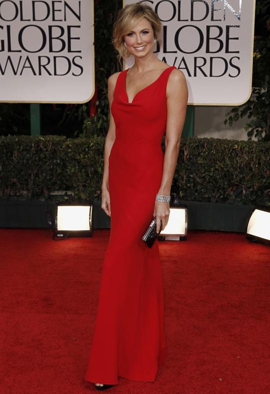Stacy Keibler @ 2012 Golden Globes Awards