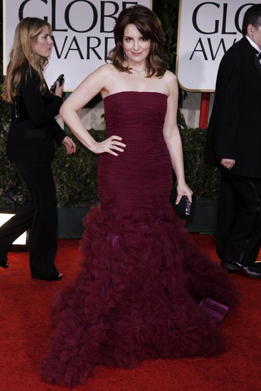 Tina Fey @ 2012 Golden Globes Awards