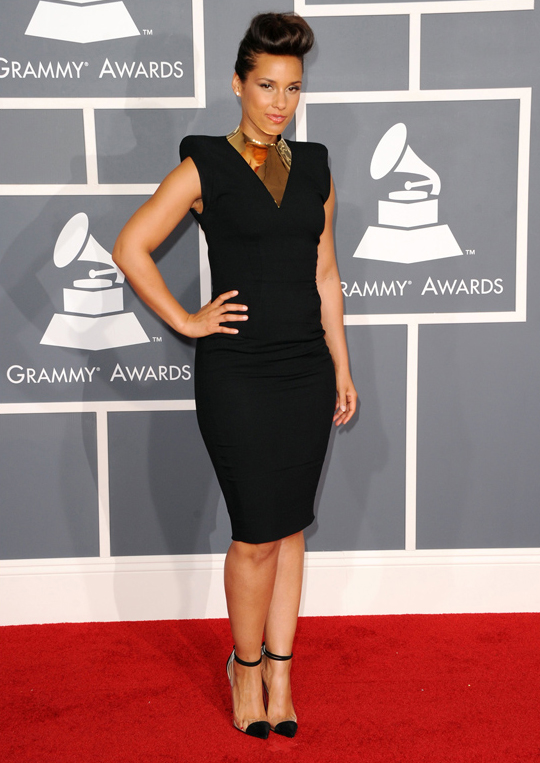 Alicia Keys - 2012 Grammy Awards
