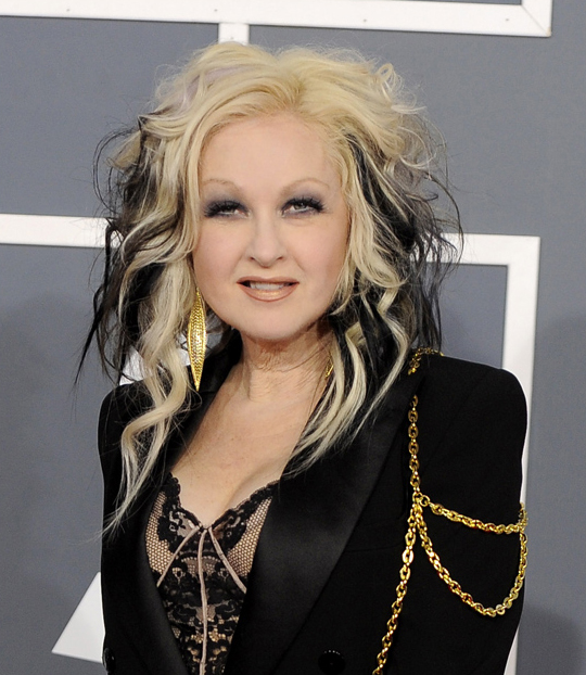 Cyndi Lauper - 2012 Grammy Awards